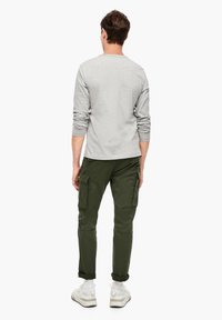 s.Oliver - Cargo trousers - khaki - 2