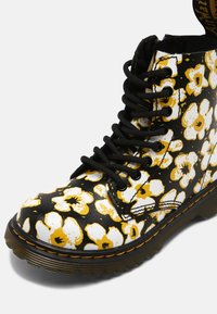 Dr. Martens - PASCAL - Lace-up ankle boots - black/yellow - 4