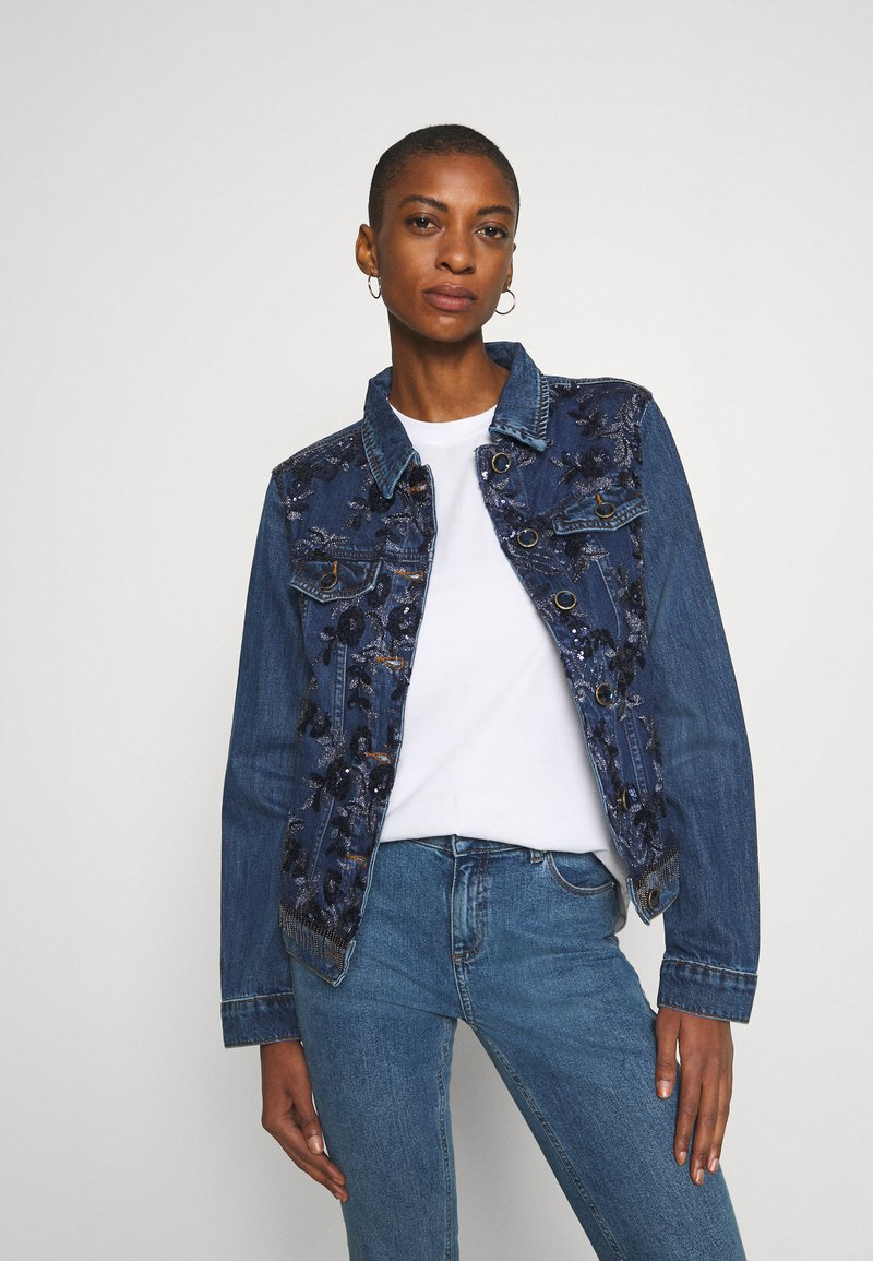 Desigual - CHAQ MEX - Veste en jean - denim medium