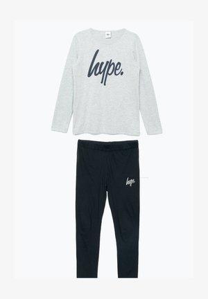 Pyjama set - grey/black