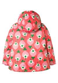 Boden - Winter jacket - blassrot, geometrisches erdbeermuster - 1