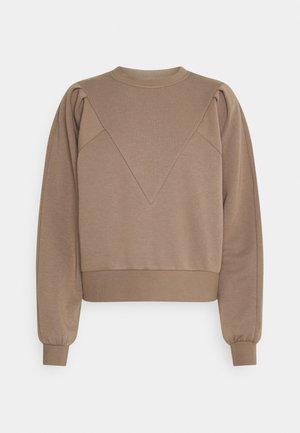 NMELLA O NECK - Sweatshirt - portabella