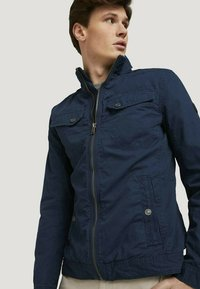 TOM TAILOR - BIKER - Light jacket - sky captain blue - 3