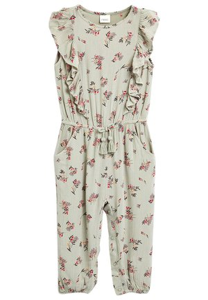 PRINTED JUMPSUIT (3MTHS-7YRS) - Jumpsuit - green
