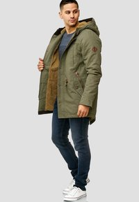 INDICODE JEANS - Winter coat - dark green - 1