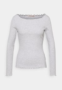 Anna Field - Long sleeved top - mottled light grey - 0