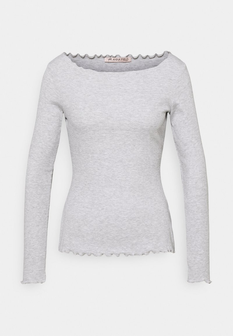 Anna Field - Long sleeved top - mottled light grey