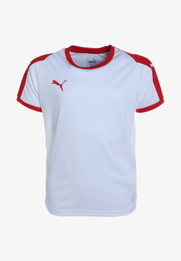 Puma - LIGA  - Sports shirt - puma white/puma red