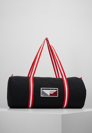 HERITAGE - Sports bag - black/university red/white