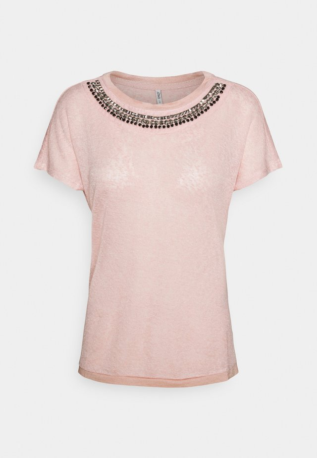 ONLRILEY BLING - T-shirt con stampa - misty rose