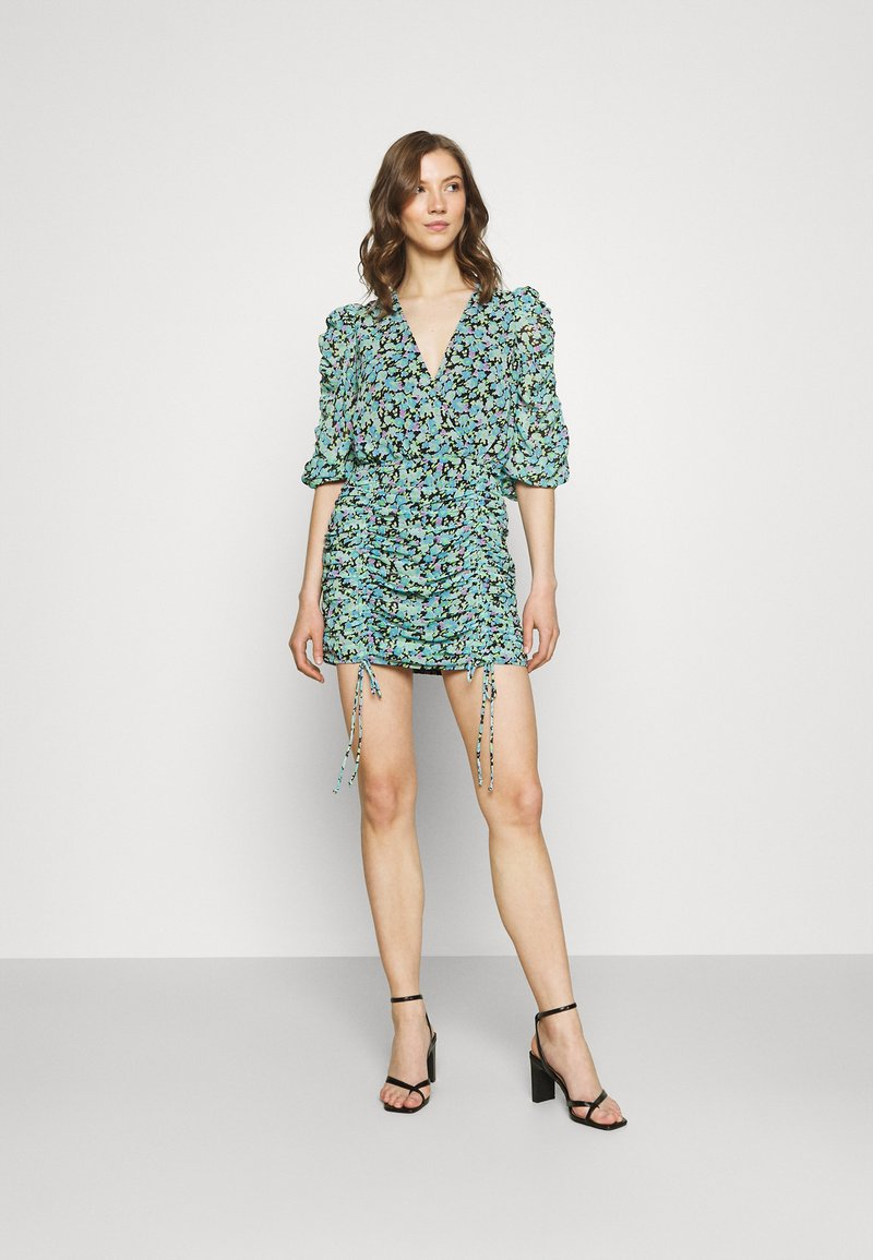 Gina Tricot - MICHELLE DRESS - Cocktail dress / Party dress - multicolor