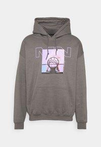 Mennace - NOTHING BUT NET HOODIE - Sweatshirt - grey - 5