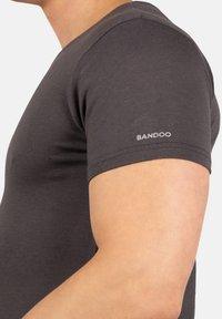 Bandoo Underwear - 2PACK - Undershirt - grey, dark grey - 4