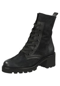 Paul Green - Lace-up ankle boots - schwarz 017 - 3