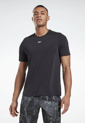 ACTIVCHILL MOVE  - Basic T-shirt - black
