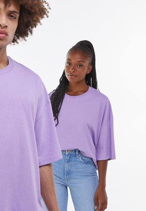 OVERSIZED UNISEX - T-Shirt basic - mauve