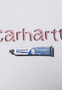 Carhartt WIP - TOOTHPASTE - Printtipaita - white - 2
