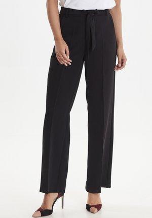 DRFIKITTA - Trousers - black