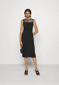 WAL G. - LAURYN MIDI DRESS - Cocktail dress / Party dress - black - 1