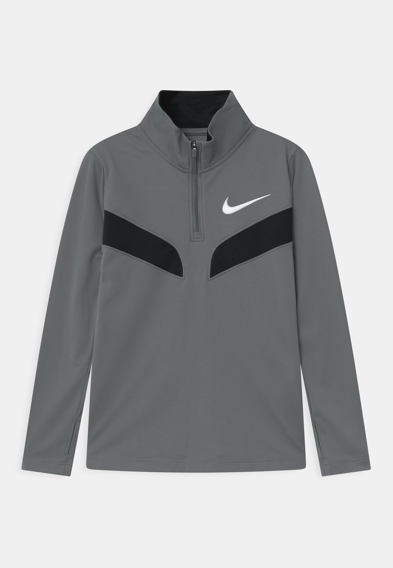 Nike Performance - POLY - Top sdlouhým rukávem - smoke grey/black