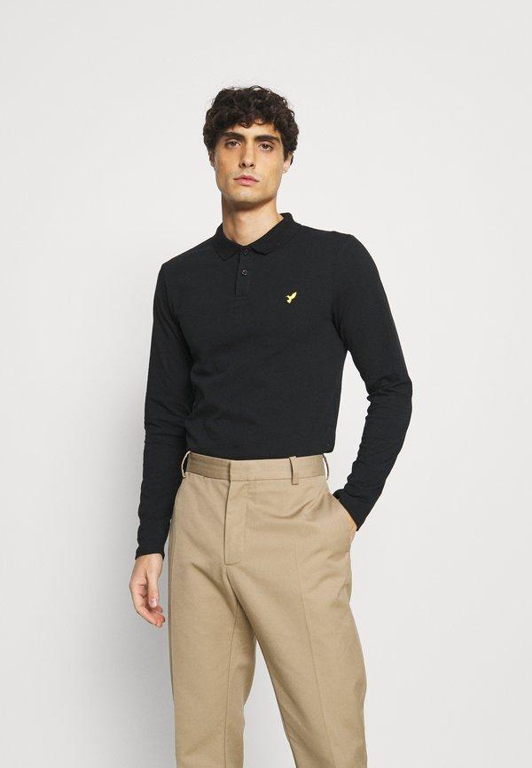 Pier One Koszulka polo - black/czarny Odzież Męska LOEY