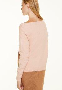 comma - Jumper - block stripe knit - 2