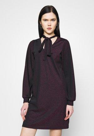 VMJELINA SHORT DRESS  - Day dress - black