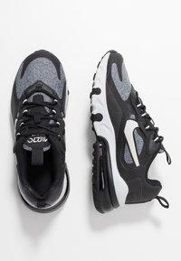 Nike Sportswear - AIR MAX 270 REACT - Sneakers basse - black/vast grey/off noir/white - 0