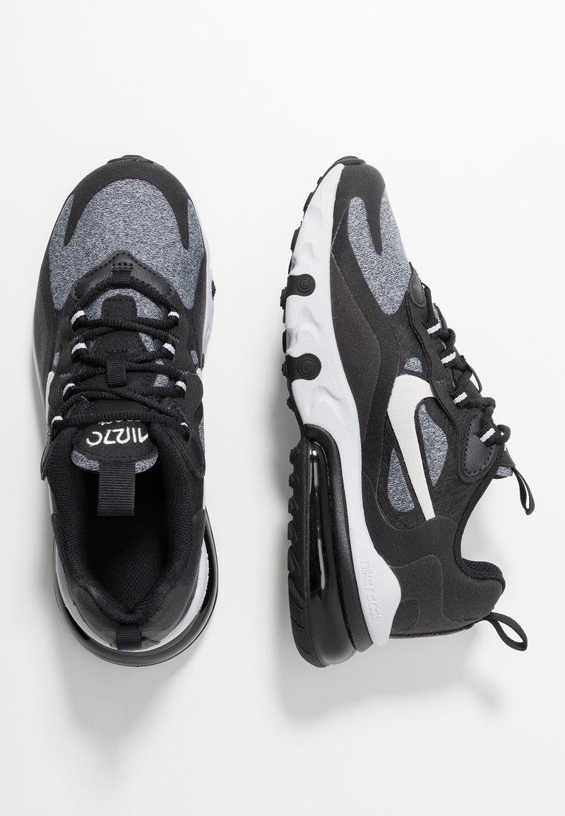 Nike Sportswear - AIR MAX 270 REACT - Sneakers basse - black/vast grey/off noir/white