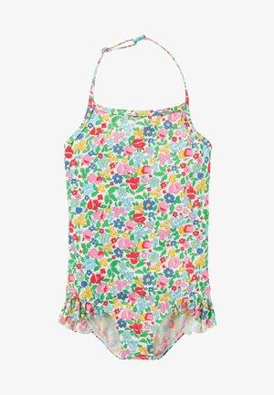 Swimsuit - bunt, filigranes vintage-blumenmuster