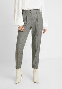 Dorothy Perkins Tall - SAVANNAH PEG LEG TROUSER - Pantalones - grey - 0