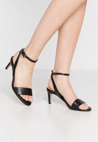 Clarks - AMALI JEWEL - Sandals - black - 0