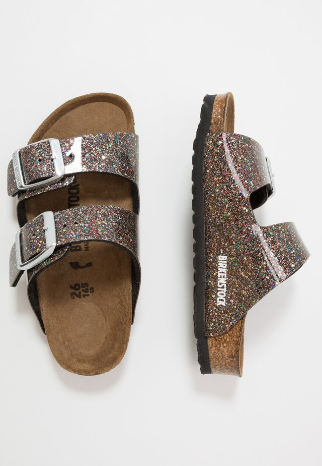 ARIZONA - Slippers - cosmic sparkle/black/multicolor