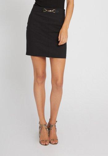 JBOUCLE - Mini skirt - black