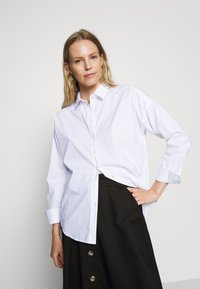 GANT - OVERSIZED SOLID - Button-down blouse - white - 3