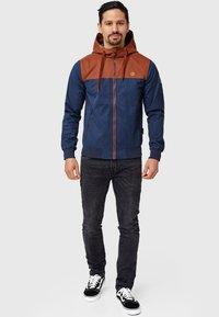 INDICODE JEANS - FLEMMING - Light jacket - rootbeer - 1
