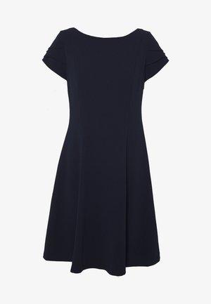 TRIPLE TULIP SLEEVES - Jersey dress - midnight