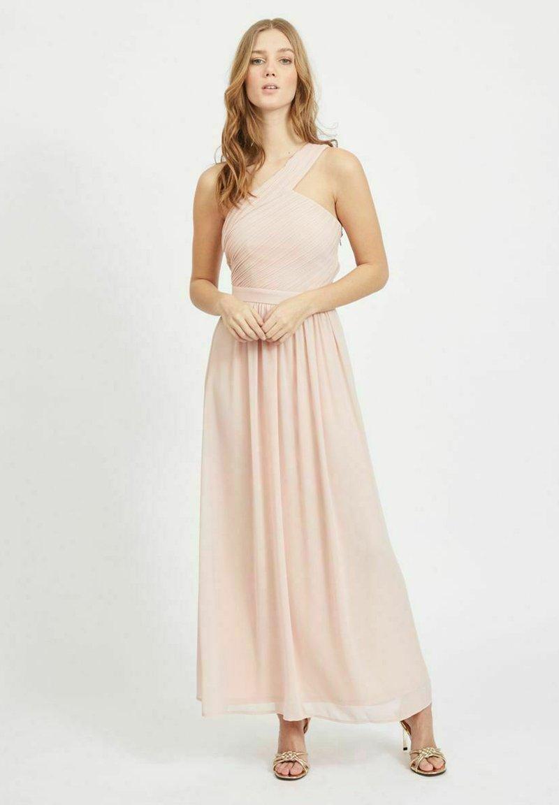 Vila - ONE-SHOULDER - Maxi dress - rose smoke