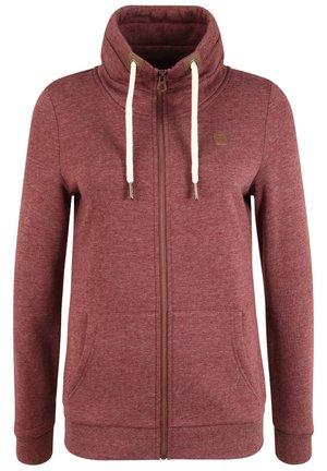 VICKY - Zip-up hoodie - wine r mel