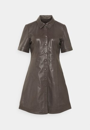 FALL DRESS - Shirt dress - sparrow