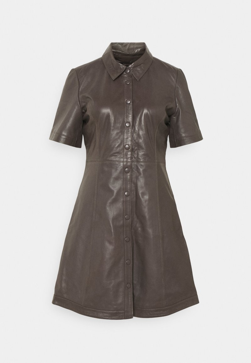 JUST FEMALE - FALL DRESS - Shirt dress - sparrow