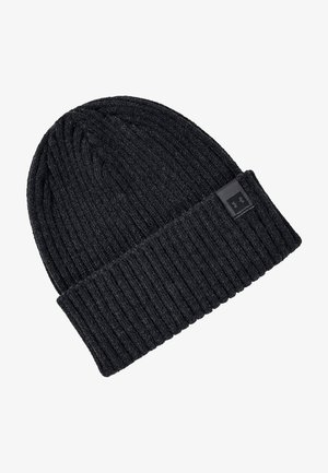 Beanie - black medium heather