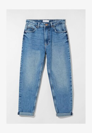 MOM FIT - Relaxed fit jeans - dark blue