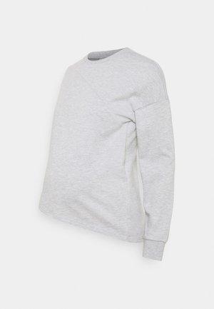 Collegepaita - mottled light grey