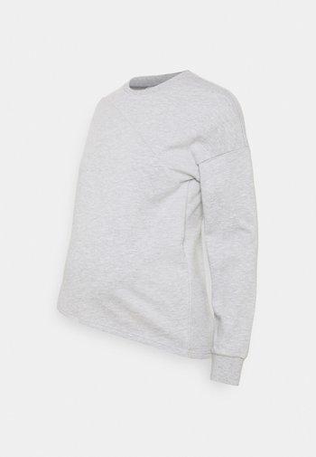 Bluza - mottled light grey