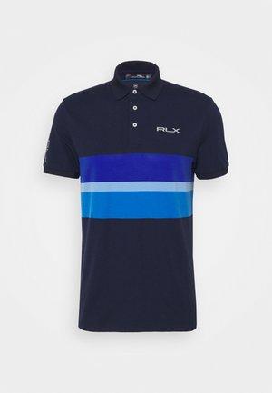 SHORT SLEEVE - Polo shirt - french navy/multi