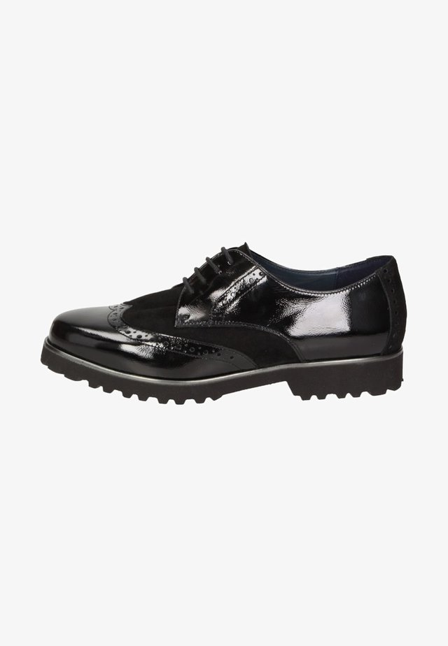 MEREDITH - Derbies - black