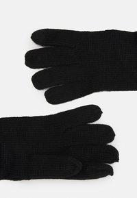 Urban Classics - GLOVES UNISEX - Gloves - black - 1