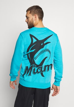 MLB MIAMI MARLINS CREW - Club wear - blue