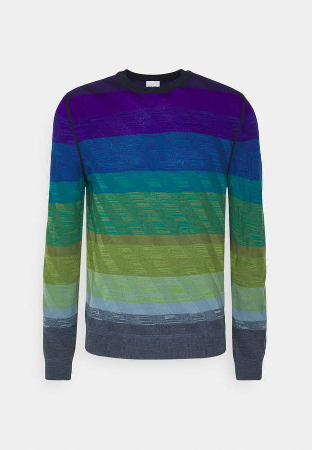 GENTS CREW NECK - Jersey de punto - multi-coloured